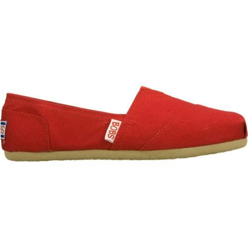 Women's Skechers BOBS Earth Day Red/Red - Thumbnail 1