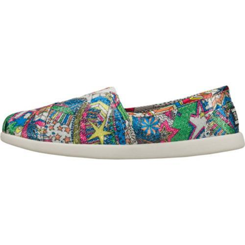 Women's Skechers BOBS World Flash and Fade Multi - Thumbnail 2