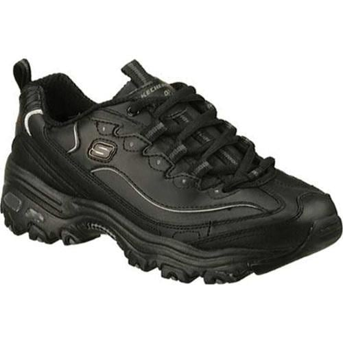 Women's Skechers D'Lites Black Sneakers