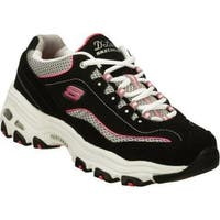 Women's Skechers D'Lites Centennial Black/White