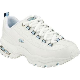 Women's Skechers Energy 3 Premium White/Blue Trim (WBL)
