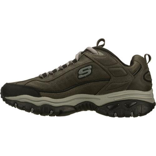 Men's Skechers Energy Downforce Charcoal - Thumbnail 2