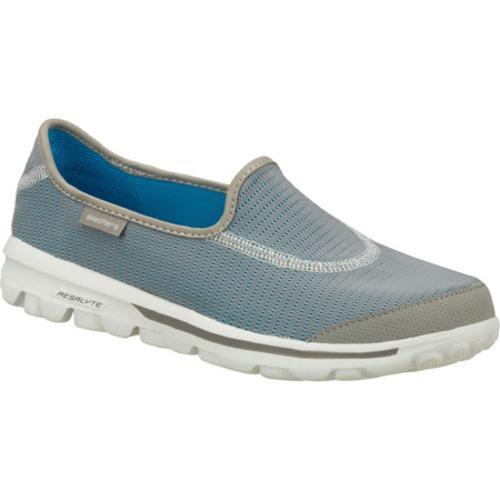 Women's Skechers GOrecovery Gray/Blue