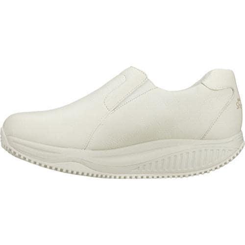 Women's Skechers Shape Ups X Wear Slip Resistant Encompass White - Thumbnail 2