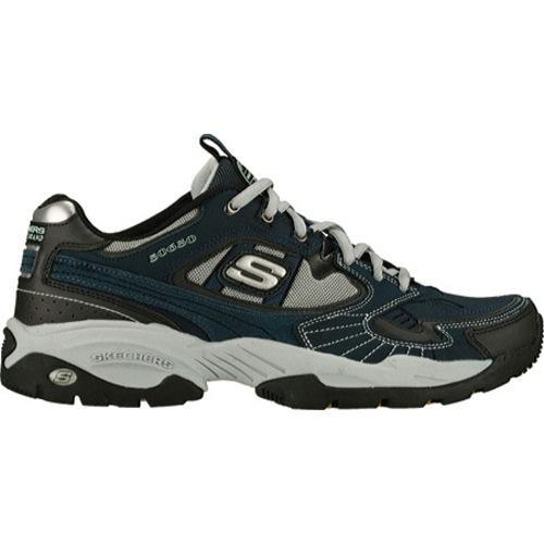 Men's Skechers Sparta Navy/Black - Thumbnail 1