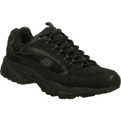 Men's Skechers Stamina Nuovo Black - Thumbnail 0