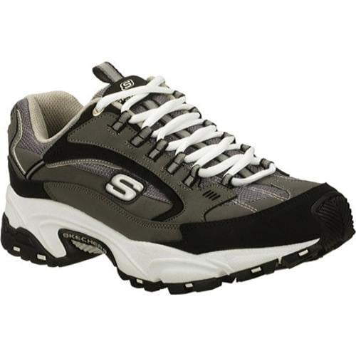 Men's Skechers Stamina Nuovo Charcoal/Black - Thumbnail 0