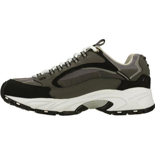 Men's Skechers Stamina Nuovo Charcoal/Black - Thumbnail 2