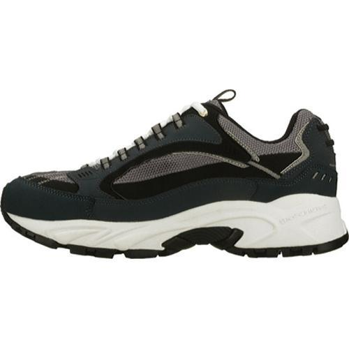 Men's Skechers Stamina Nuovo Navy/Black - Thumbnail 2