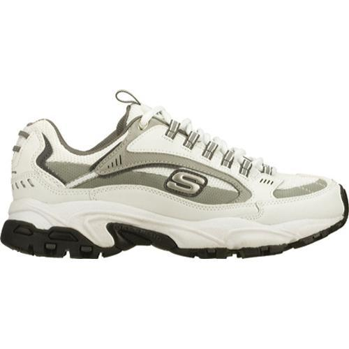 Men's Skechers Stamina Nuovo White/Gray - Thumbnail 1