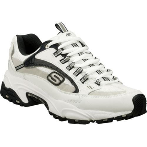 Men's Skechers Stamina Nuovo White/Navy/Grey