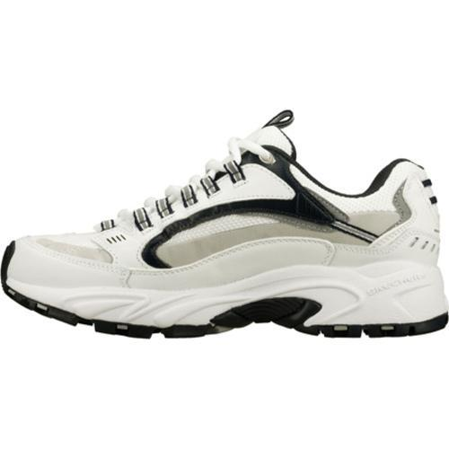 Men's Skechers Stamina Nuovo White/Navy/Grey - Thumbnail 2