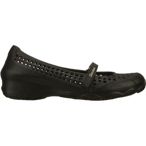 Women's Skechers Step Ups Wanders Black - Thumbnail 1