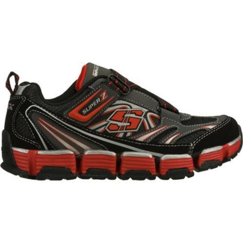 Boys' Skechers Supreme Flex Revert Black/Red - Thumbnail 1