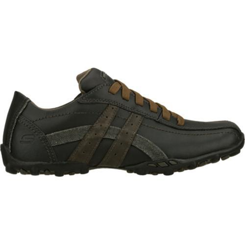 Men's Skechers Talus Burk Black/Gray - Thumbnail 1