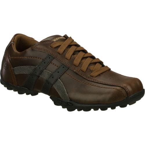 Men's Skechers Talus Burk Brown/Brown - Thumbnail 0