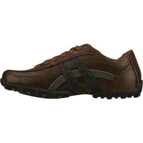 Men's Skechers Talus Burk Brown/Brown - Thumbnail 2