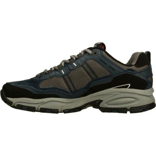 Men's Skechers Vigor 2.0 Navy/Gray - Thumbnail 2