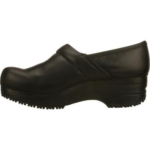 Women's Skechers Work Tone Ups Clog Slip Resistant Black - Thumbnail 2