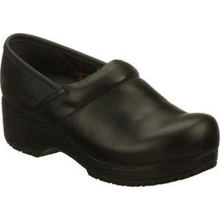 Skechers Women's Work Tone Ups Black Slip-Resistant Clog