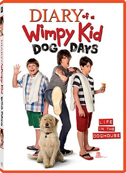 Diary of a Wimpy Kid: Dog Days (DVD)
