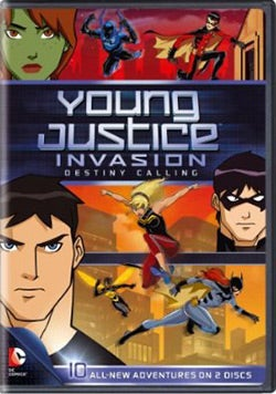 Young Justice: Invasion Destiny Calling- Season 2 Part 1 (DVD)
