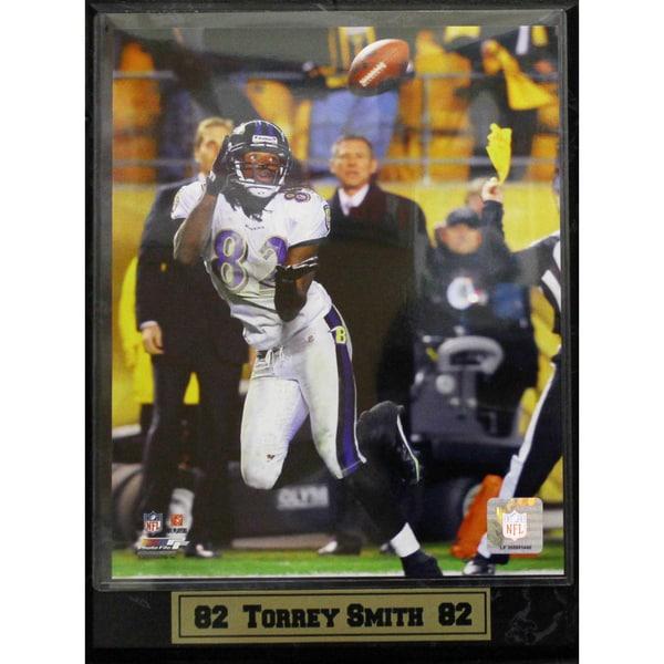 Baltimore Ravens Torrie Smith Photo Plaque (9 x 12)