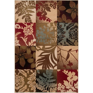Cisco Contemporary Damask Area Rug