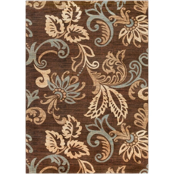 Cheshire Contemporary Damask Area Rug