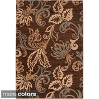 Cheshire Contemporary Damask Area Rug (10' x 13')
