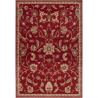 Chandler Transitional Damask Area Rug