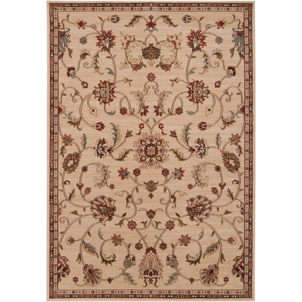 Cerritos Transitional Floral Area Rug (10' x 13')