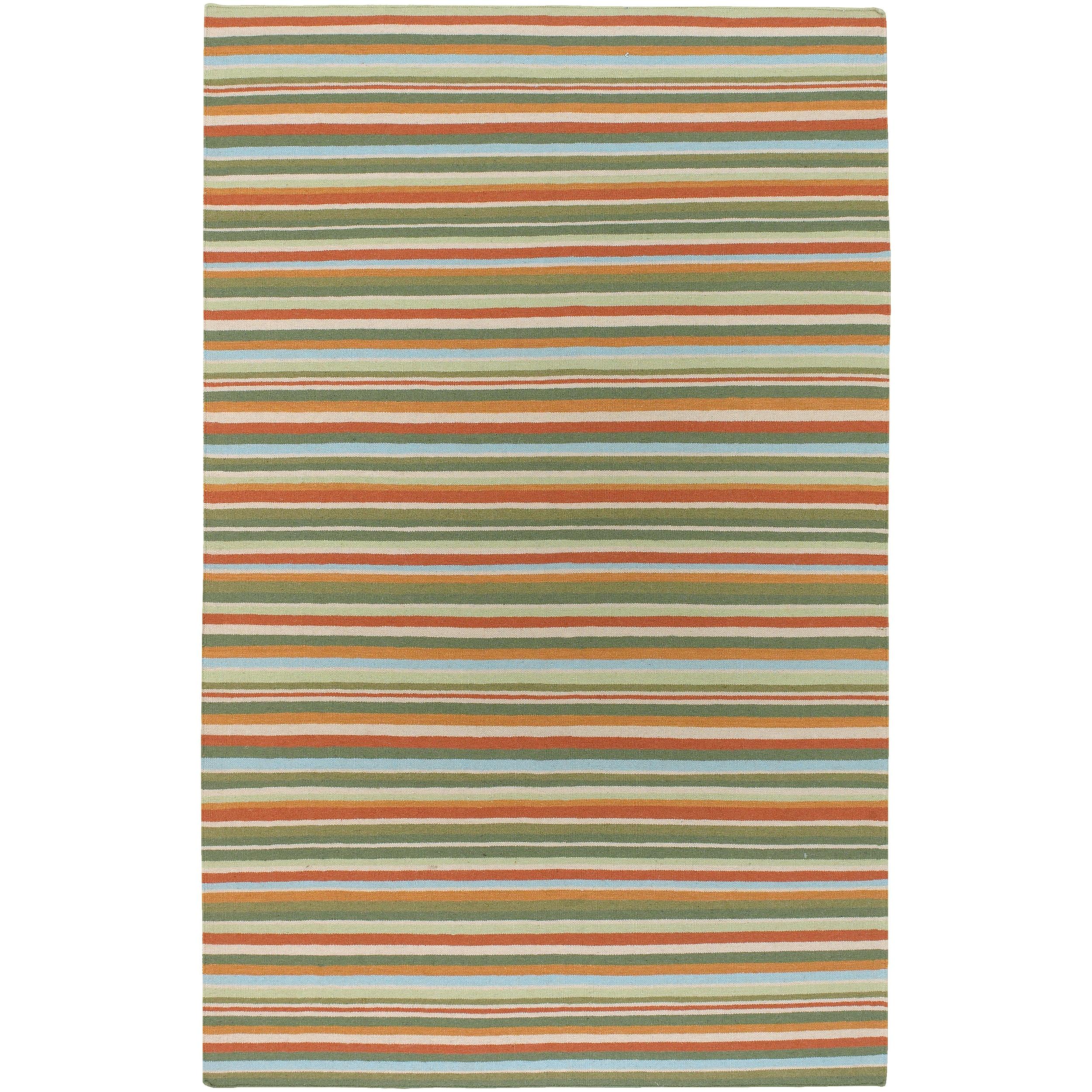 SURYA Home Hand-woven Cascade Wool Rug (Dark Khaki-(2' x ...