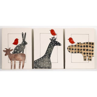 Cotton Tale Animal Stackers Wall Art