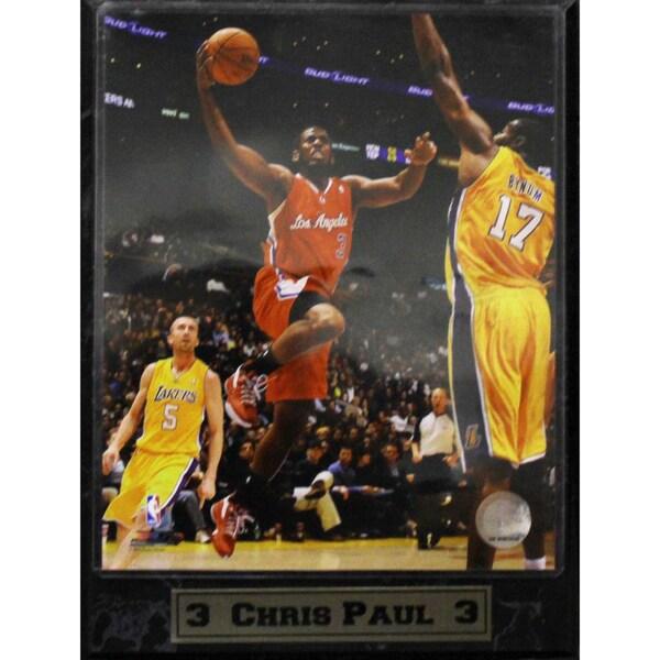 LA Clippers Chris Paul Photo Plaque (9 x 12)
