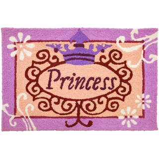 Jellybean 'Princess' Indoor/ Outdoor Accent Rug (1'9 x 2'9)
