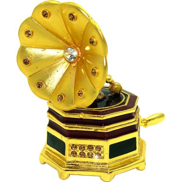 Objet d'art 'The Victrola' Trinket Box