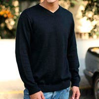Handmade Men's Alpaca Blend 'Ebony' Sweater (Peru)