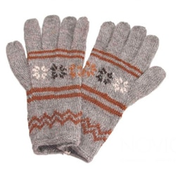 Alpaca Blend 'Gentle Clouds' Gloves (Peru)