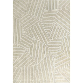 Jovi Home Hand-tufted Puzzle Off-white Rug (8' x 11')