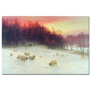 Joseph Farquharson 'Glowing Evening Hours in the West' Art
