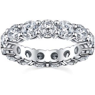 14k White Gold 2 1/2ct TDW Diamond Eternity Wedding Band