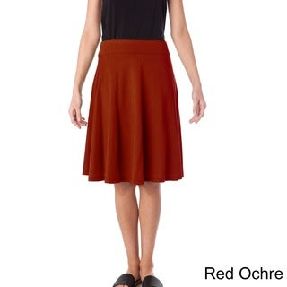AtoZ Cotton A-line Skirt