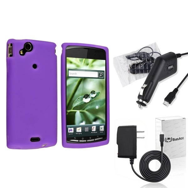 BasAcc Case/ Travel/ Car Charger for Sony Ericsson Xperia Arc X12
