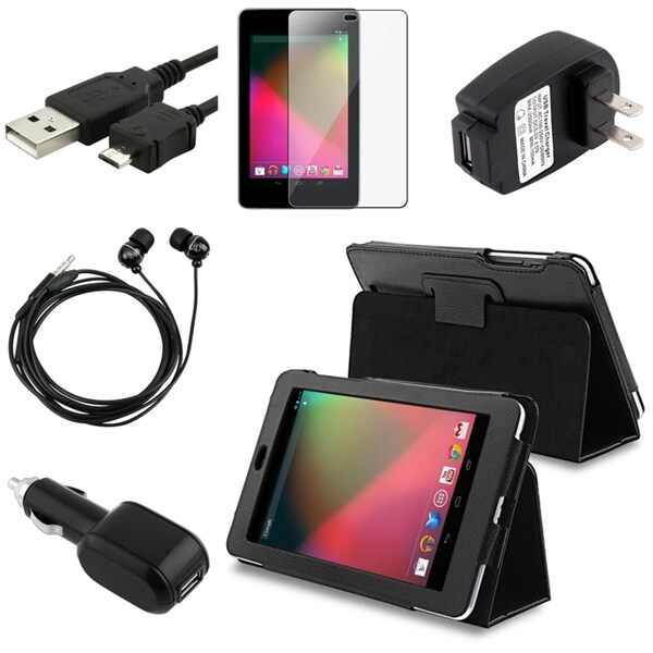 BasAcc Case/ Charger/ Headset/ Protector/ USB Cable for Google Nexus 7