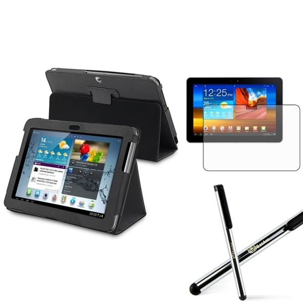 INSTEN Tablet Case Cover/ Screen Protector/ Stylus for Samsung Galaxy Tab 2 10.1