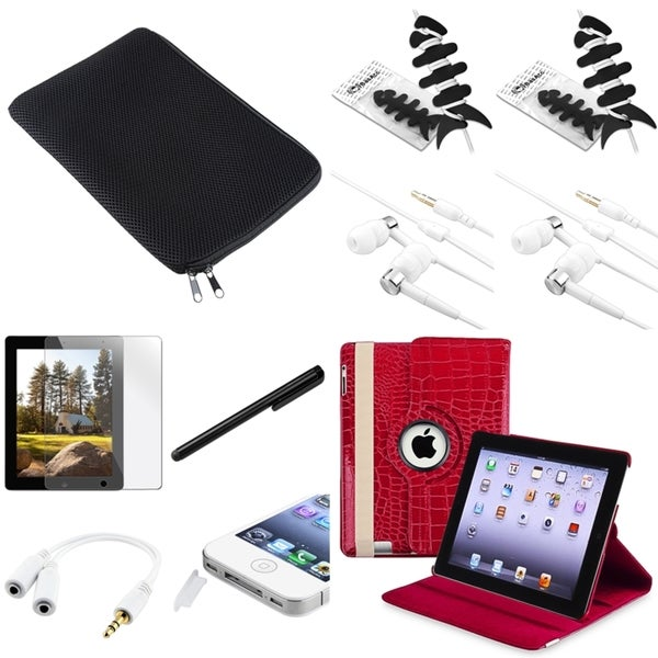 BasAcc Protector/ Case/ Sleeve/ Splitter/ Headset for Apple iPad 2