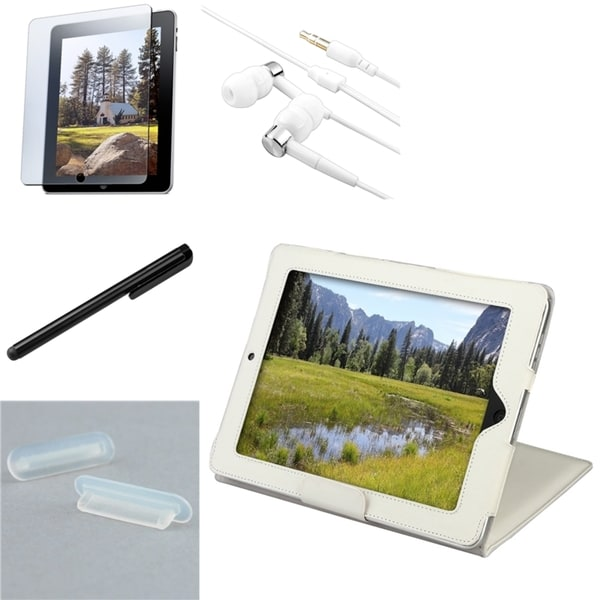 BasAcc Headset/ Protector/ Plug/ Stylus/ Case for Apple iPad 1