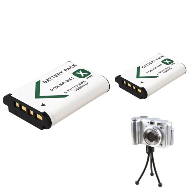 INSTEN Mini Tripod/ Li-ion Battery for Sony NP-BX1