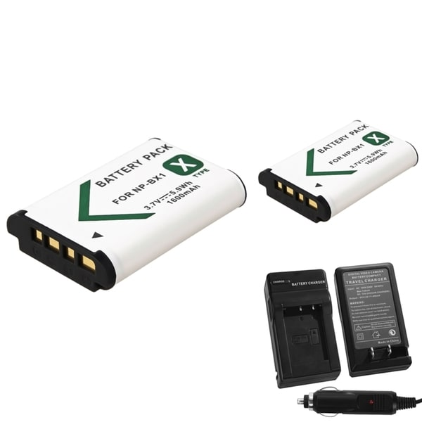 INSTEN Battery Charger/ Li-ion Battery for Sony NP-BX1